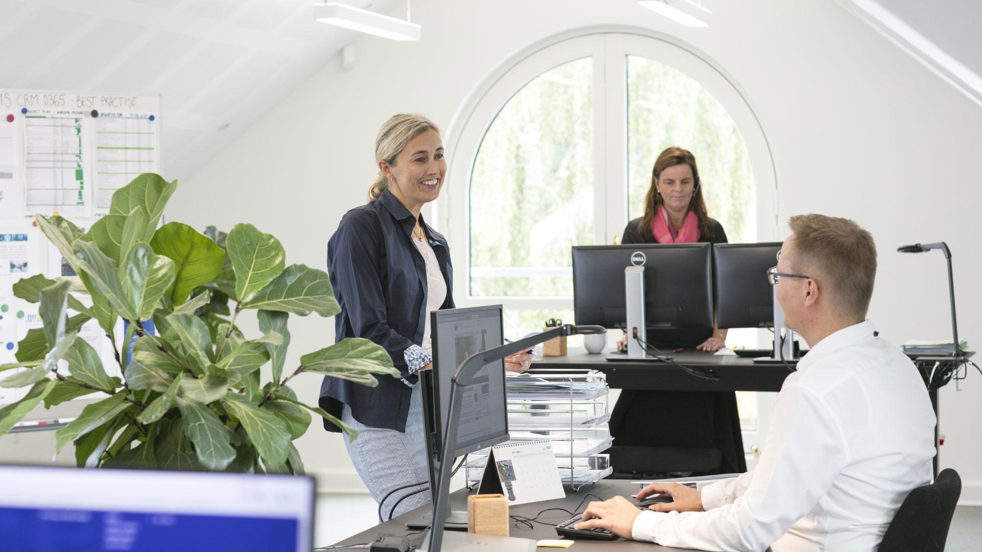 AVK kontormiljø