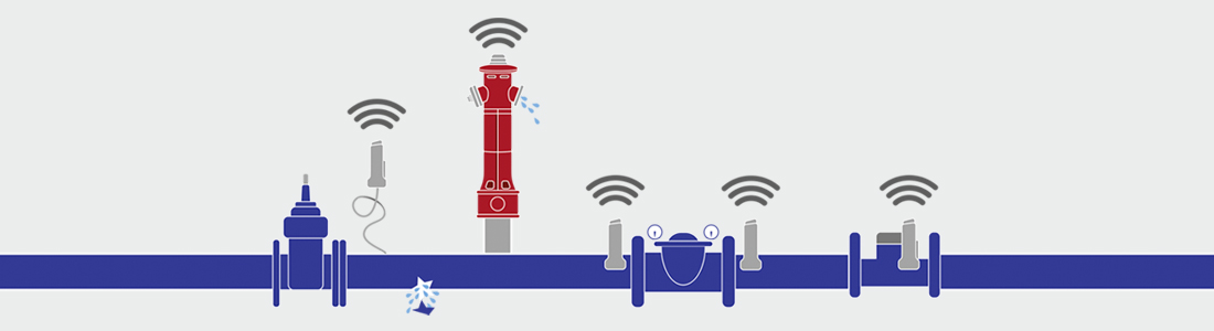 Forsyningsnettet kan digitaliseres med VIDI-enheder fra AVK Smart Water