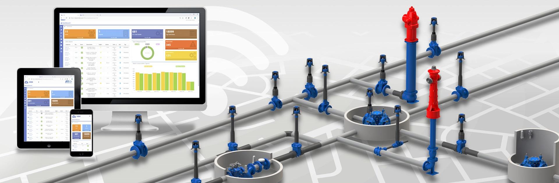 Digitalisering af forsyningsnettet med løsninger fra AVK Smart Water