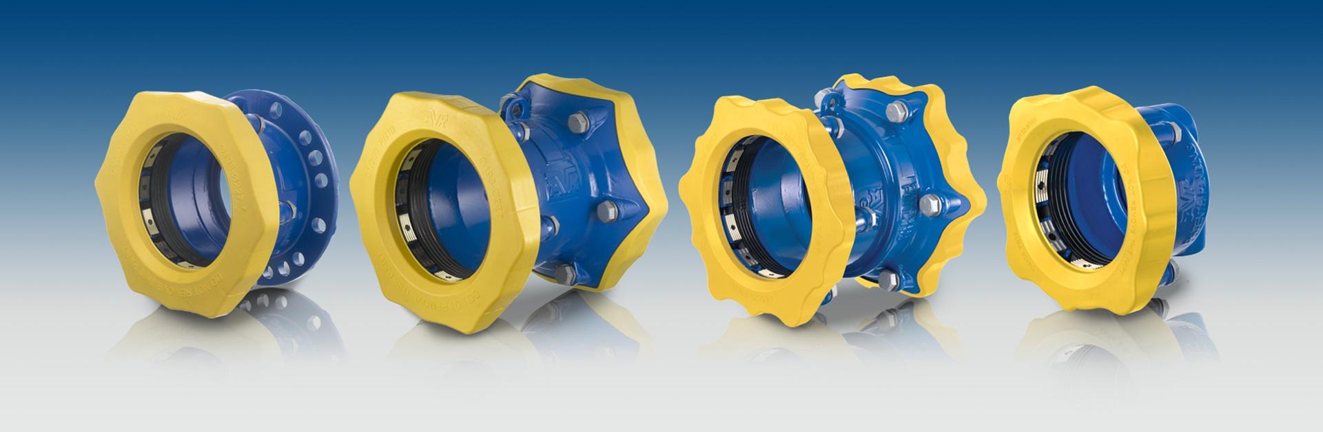 Supa Maxi™ trækfaste universale koblinger til gasforsyning