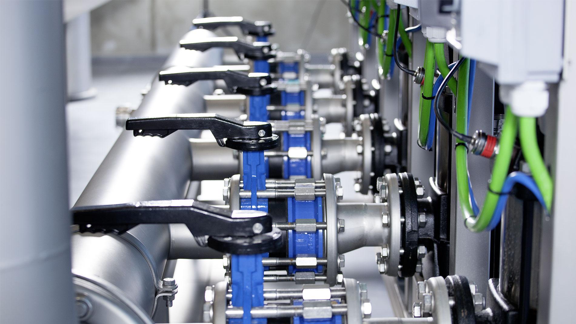 Højkvalitetsprodukter leveret til nyt vandværk
