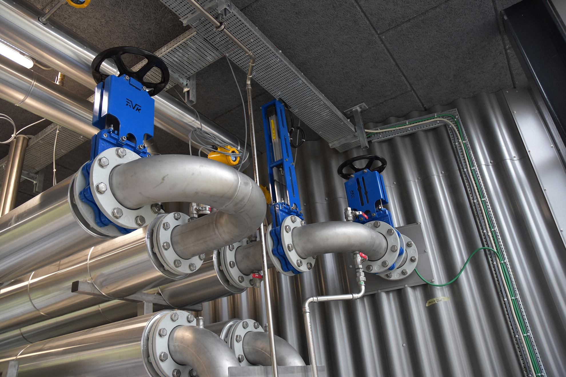 Ny-renoveret renseanlæg i Egå med banebrydende teknologier og  AVK spadeventiler