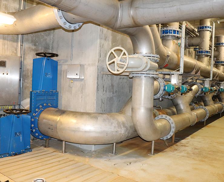 AVK produkter i renovationsprojekt på Herning rensningsanlæg