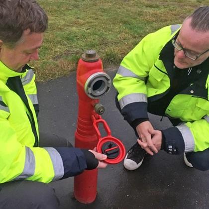 AVK designer intelligente brandhaner til Skanderborg