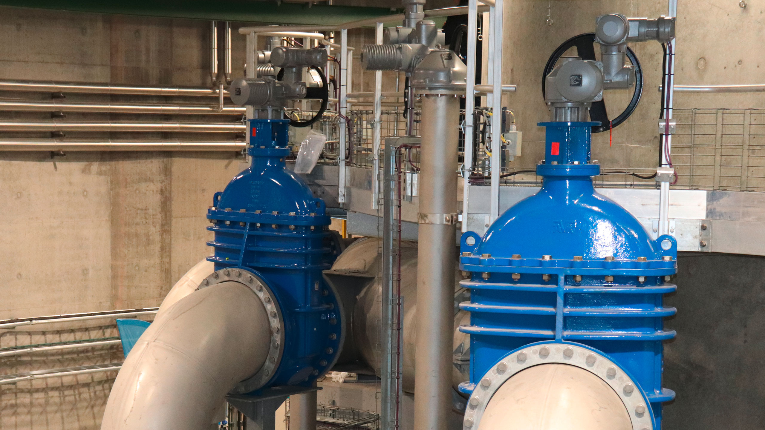 AVK-ventiler installeret på Kløvermarken Pumpestation