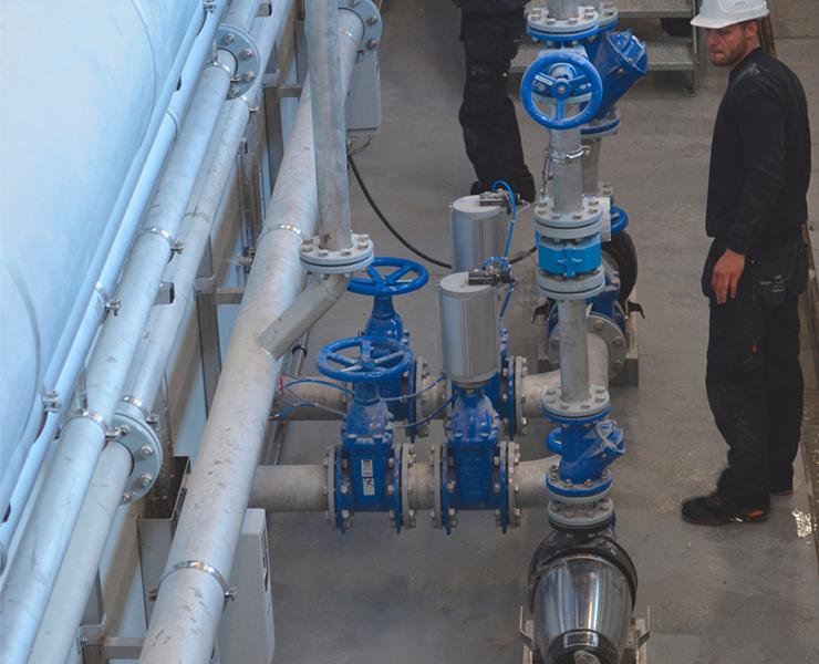 AVK Hjælper Mariagerfjord rensningsanlæg med at udvide kapaciteten og reducere miljøbelastningen