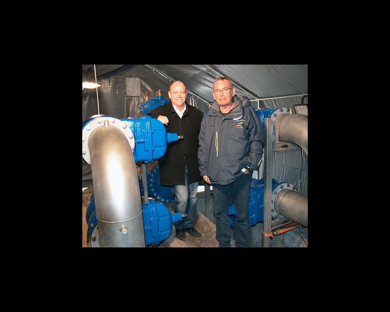 AVK ventiler i ny vandledning mellem Frederikshavn og Skagen