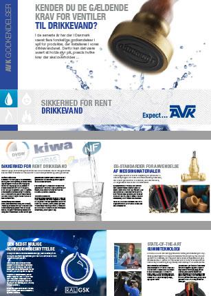 Kender du de gældende krav for ventiler til drikkevand?