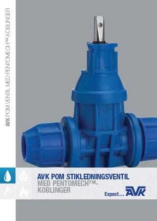 Brochure: AVK POM stikledningsventil med Pentomech™-koblinger