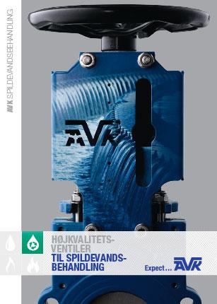 Brochure om AVK spildevandsbehandling
