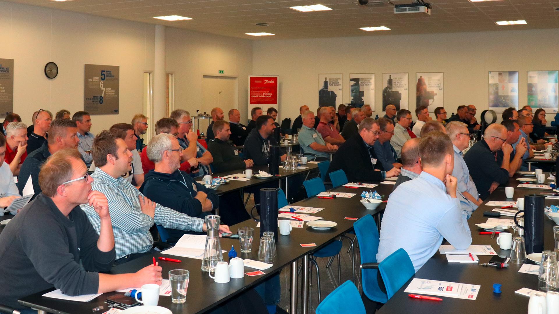 Vand- og spildevandsbranchen samlet til seminar hos AVK
