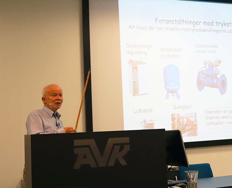 AVK bød indenfor til et seminar om energioptimering, og det var en fornøjelse at se så mange repræsentanter fra den danske vandforsyningsbranche