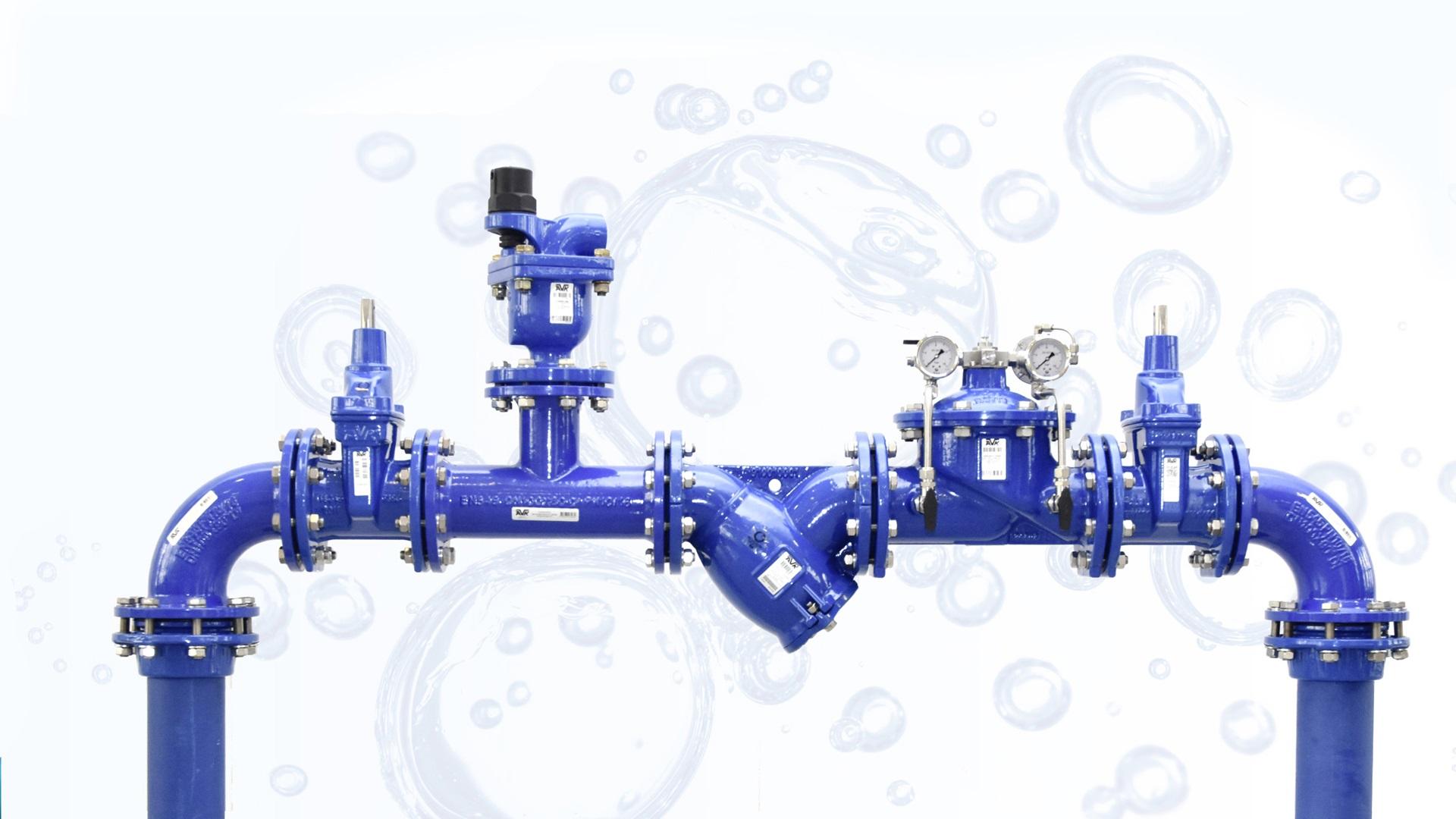AVK ventiler - skydeventiler, udluftningsventiler og reguleringsventiler