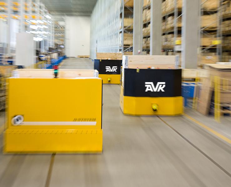 AVK's distributionscenter i Skovby