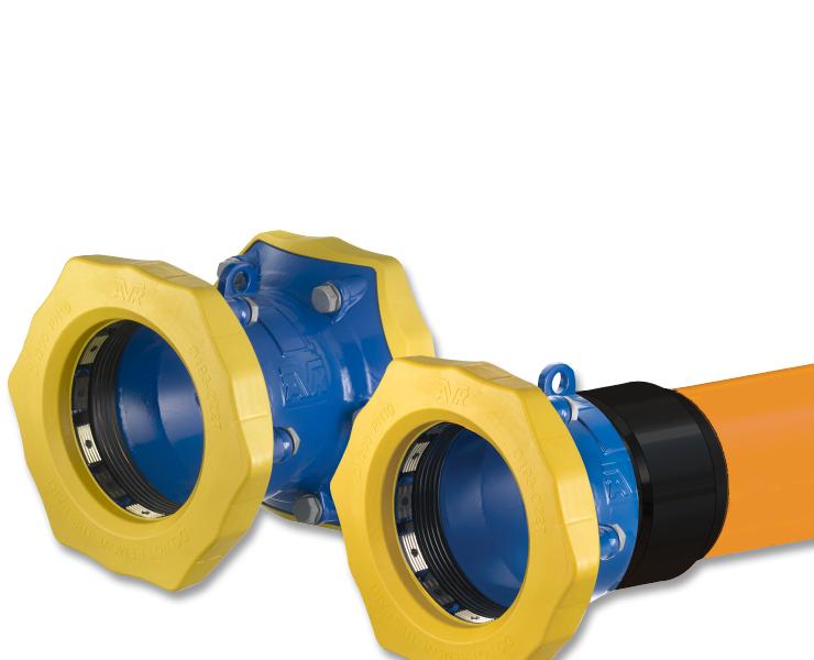 Universale og trækfaste Supa Maxi™ koblinger til gasforsyning