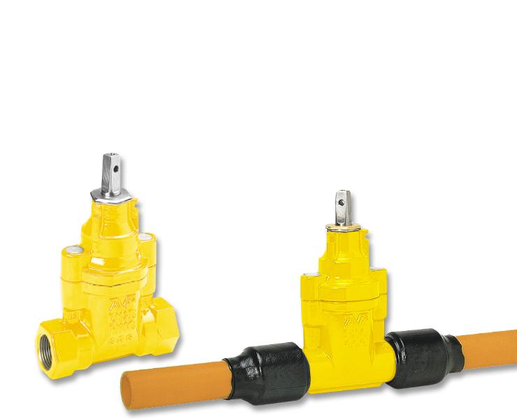 AVK stikledningsventiler til gas