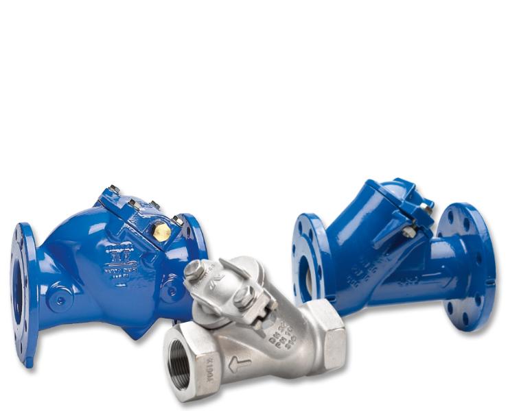 Kontraventiler til spildevandsbehandling