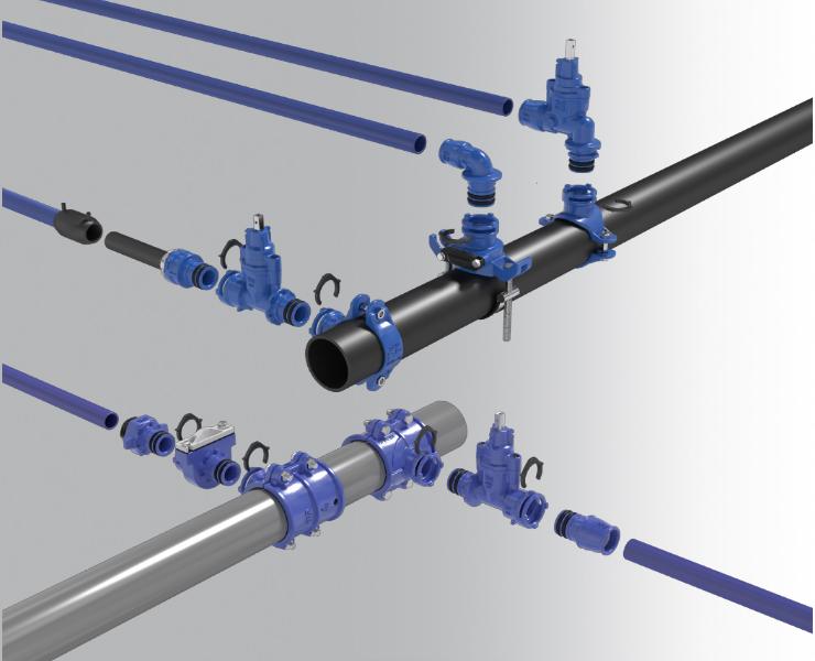Supa Lock™ - det gevindløse stikledningssystem
