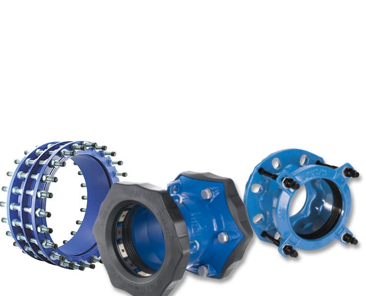 Koblinger og adaptere til vandforsyning