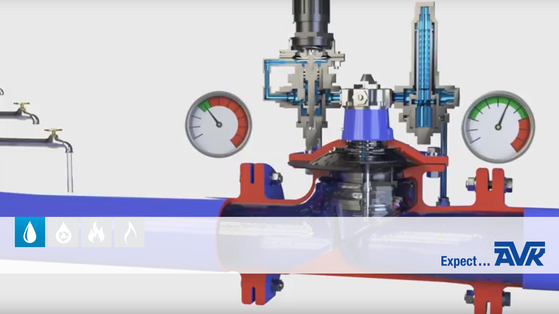 Hvordan fungerer trykreducerende ventiler fra AVK