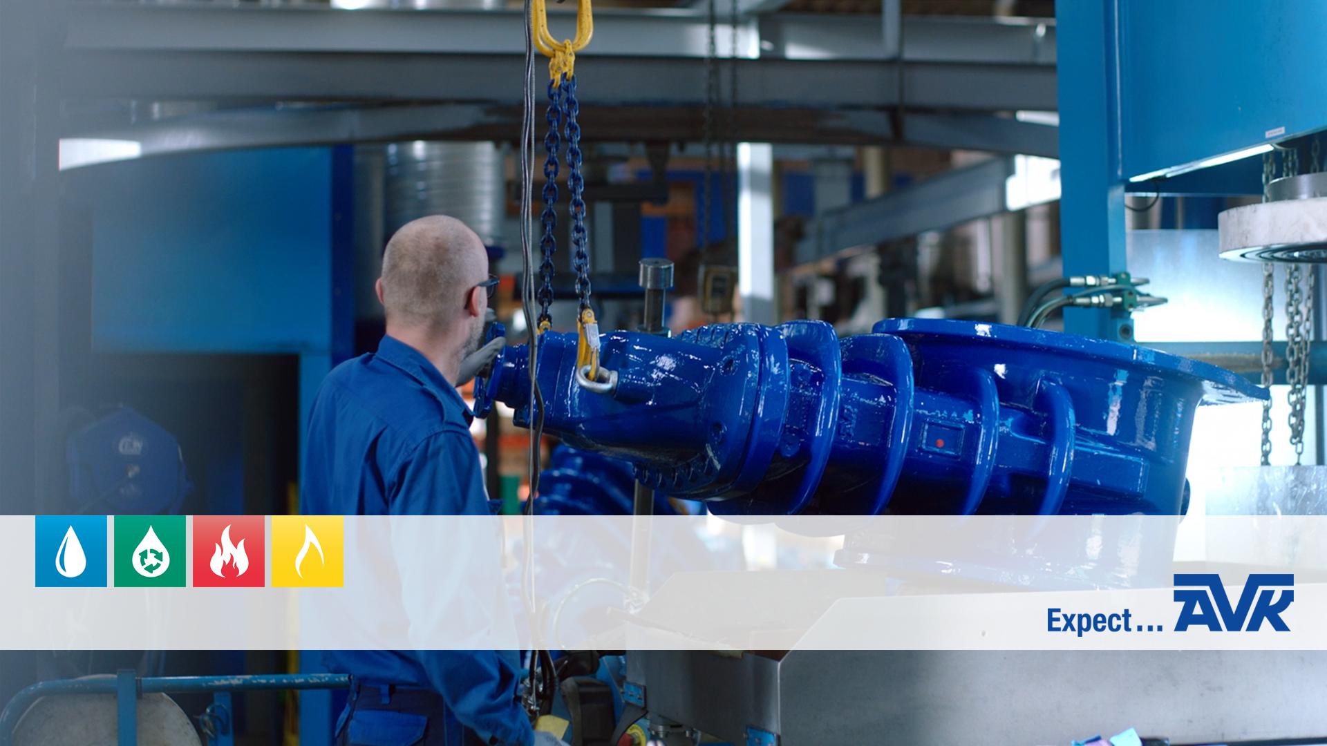 Fabrikstur på AVK International