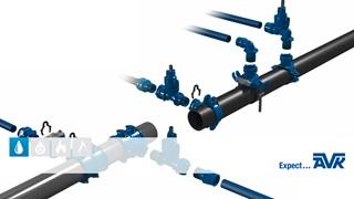 AVK Supa Lock™ - det gevindløse stikledningsystem